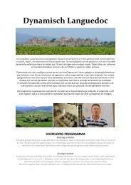 Dynamisch Languedoc - Claudia van Dongen