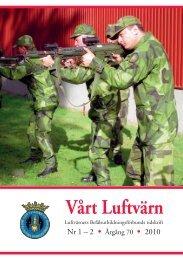 Vårt luftvärn nr 1-2/2010 - Luftvärnsförbundet