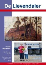 23e Lievendaler - Stichting Wijkoverleg Lievendaal