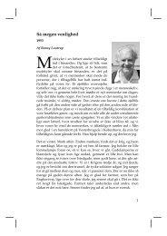 Benny Lautrup - Så megen venlighed - Niels Bohr Institutet