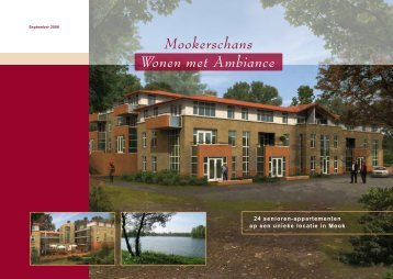 Mook, brochure Residentie Mookerschans - Vijn Vastgoed