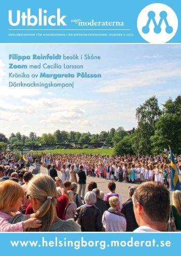 Utblick nr 2 2012 - Moderaterna Helsingborg