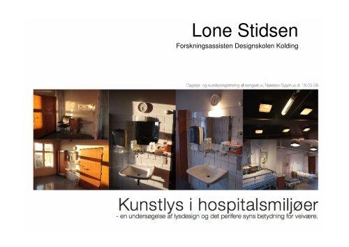 Hent Lone Stidsens præsentation i pdf-format - Lysnet