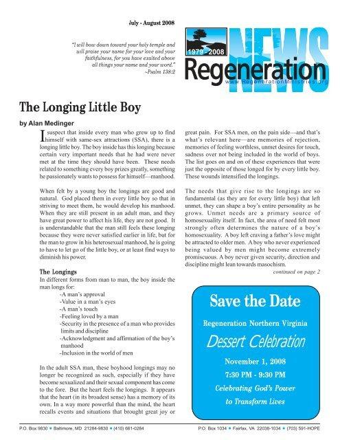 The Loging Little Boy - Regeneration