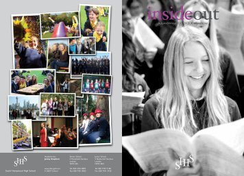 Inside Out - Autumn 2012 - South Hampstead High School