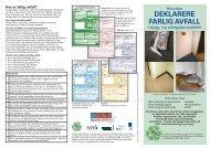 Hvordan deklarere farlig avfall i bygg- og anleggsprosjekter
