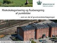 Risikokategorisering og fluxberegning af punktkilder - ATV Jord og ...