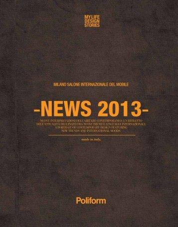 arkhenea showroom - Poliform News 2013 összefoglaló