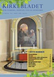 Hent kirkebladet her - Faaborg Kirke
