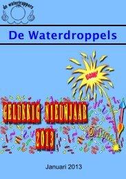 2013 januari - De Waterdroppels