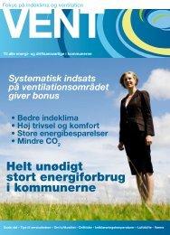 Til alle energi- og driftsansvarlige i kommunerne - VENT ordningens