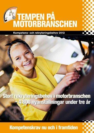 Tempen på moTorbranschen - Bilproffs