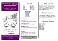 Klik voor het downloaden van de menukaart. - Frituur het Kevertje