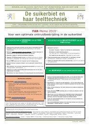 FAR - Koninklijk Belgisch Instituut tot Verbetering van de Biet