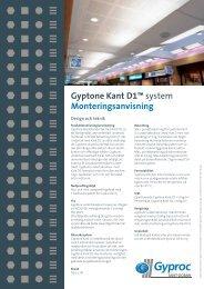 Ladda ned broschyr (pdf) - Gyptone