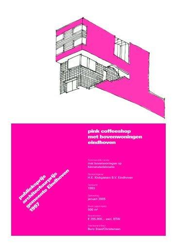 pink coffeeshop met bovenwoningen eindhoven - Architecten