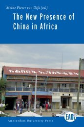 new presence of China in Africa - OAPEN