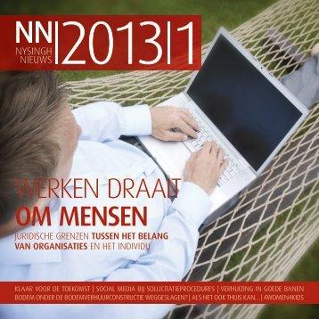 Nysingh Nieuws 2013 1
