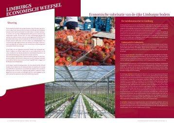 Economisch rapport juni 2009 (tuinbouw) - ERSV Limburg