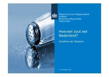 Hoeveel zout eet Nederland nu werkelijk? - Food Hospitality