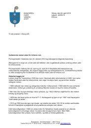 Se biskoppens brev her - Viborg Stift