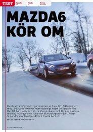 Mazda siktar högt med nya versionen av 6:an. Och ... - Torvalla Bil