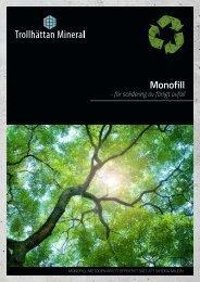 Trollhättan Mineral Monofill - för solidering av farligt avfall