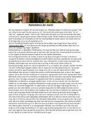Nyhedsbrev for marts - Blistrup Kirke