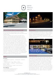 Sonne Lifestyle Resort Bregenzerwald Architectuur Wellness & Spa ...
