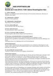 Protokoll årsmöte 2012 - Habo Sportfiskeklubb