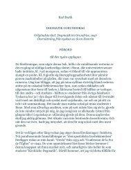 Karl Barth DOGMATIK I GRUNDDRAG ... - harnostudier.com