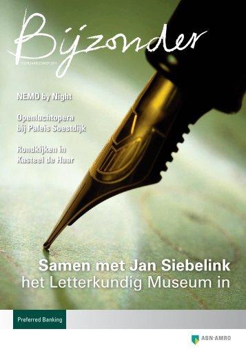 Samen met Jan Siebelink het Letterkundig Museum in