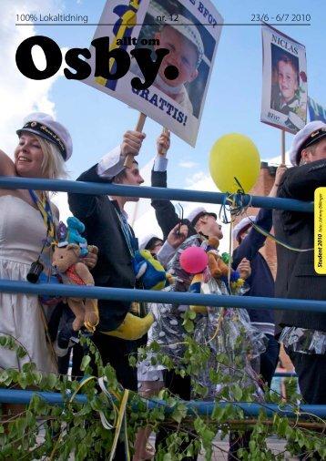 23/6 - 6/7 2010 100% Lokaltidning nr. 12
