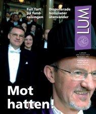 LUM nr 6 - 17 juni - Humanekologi Lunds universitet