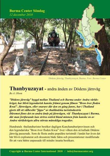 Svensk PDF (613 KB) - Burma Center