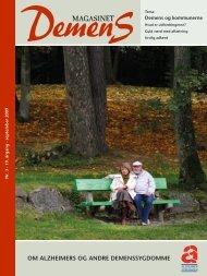 Om Alzheimers Og Andre demenssygdOmme - Alzheimerforeningen