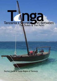 Tourism Guide of Tanga Region of Tanzania - Tanga Tourism