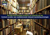 Content curatie: een veelbelovende inbound marketing strategie