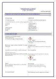 Veiligheidsinformatieblad - Megacoatings
