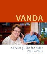 Serviceguide för äldre 2008–2009