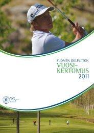 VUOSI- KERTOMUS 2011 - Golf.fi