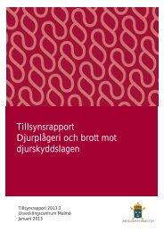 Tillsynsrapport 2013 2.pdf - Åklagarmyndigheten