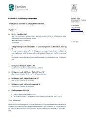 Referat bestyrelsesmøde 1.nov 2011 - Hadbjerg Skole