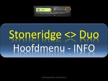 Ontworpen door: www.bustic.nl Hoofdmenu Exakt
