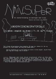 UNDERVISNINGSMATERIALE - QUASI teater
