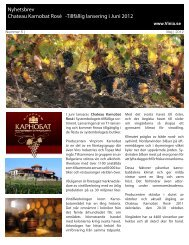 Nyhetsbrev Chateau Karnobat Rosé -Tillfällig ... - Mynewsdesk