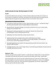 Aktiviteter i regi af Udddanelsesby Herning 2012. - Herning Kommune