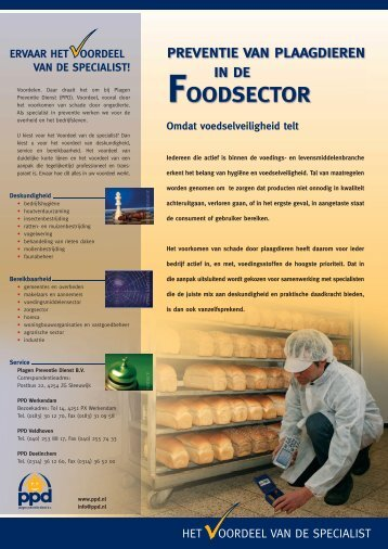 FOODSECTOR - PPD