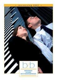 — jaarverslag 2007 — - BZB