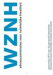 Jaarverslag 2012 Adviescommissie Ruimtelijke Kwaliteit